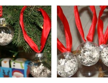 DIY christmas ornaments, christmas ornaments you can make,