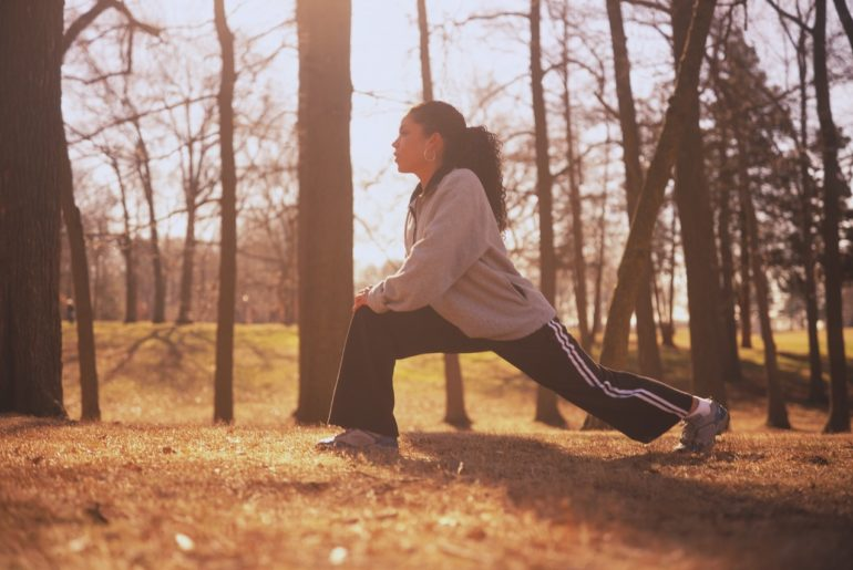 Spring Means Get Exercise Outdoors