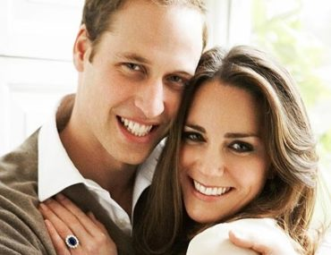 official engagement photo of will and kate