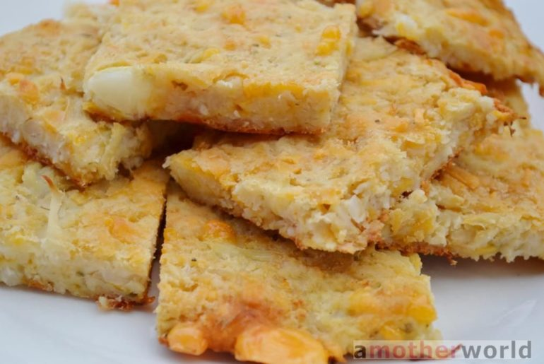 gluten-free cheese cauliflower bread