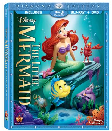 The Little Mermaid: Diamond Edition Blu-ray Combo Pack