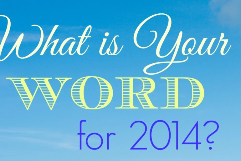 what is your word for the new year