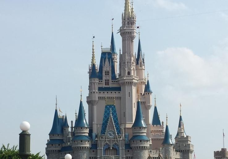 Magic Kingdom castle Walt Disney World
