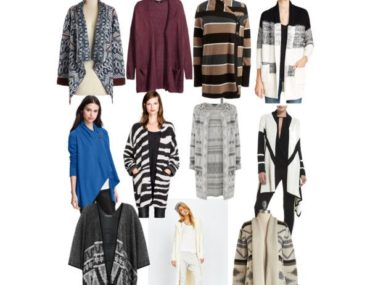 Long Wrap Sweaters and Cardigans