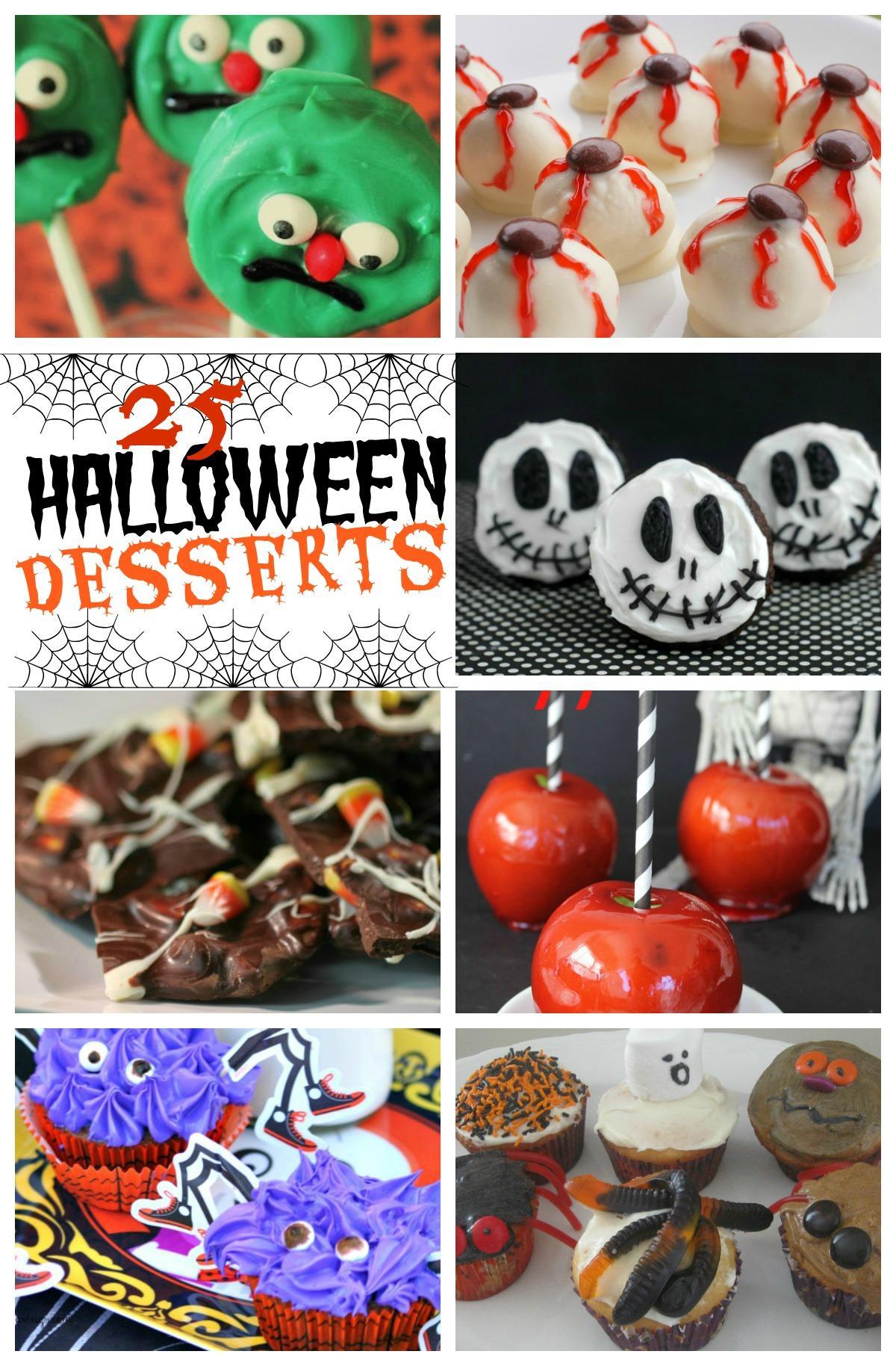 25 Halloween Dessert Recipes