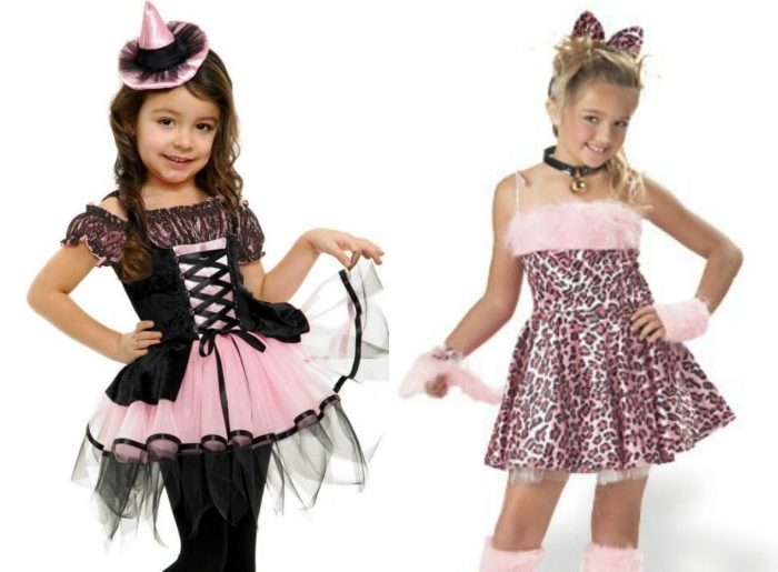 Halloween Costumes for Girls Compared to Boys