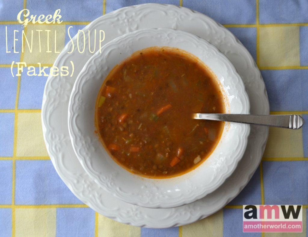 Greek Lentil Soup Fakes