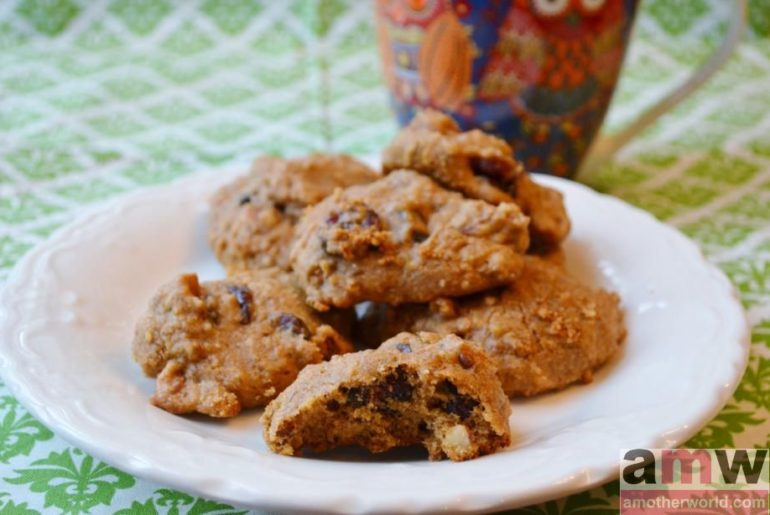 Almond Cranberry Orange Cookies Gluten, Dairy and Egg Free