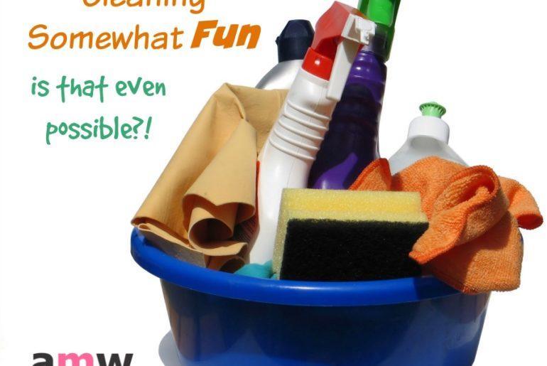 7 ways to make cleaning somewhat fun