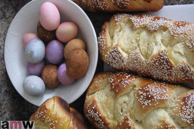 Greek Sweet Bread Tsoureki