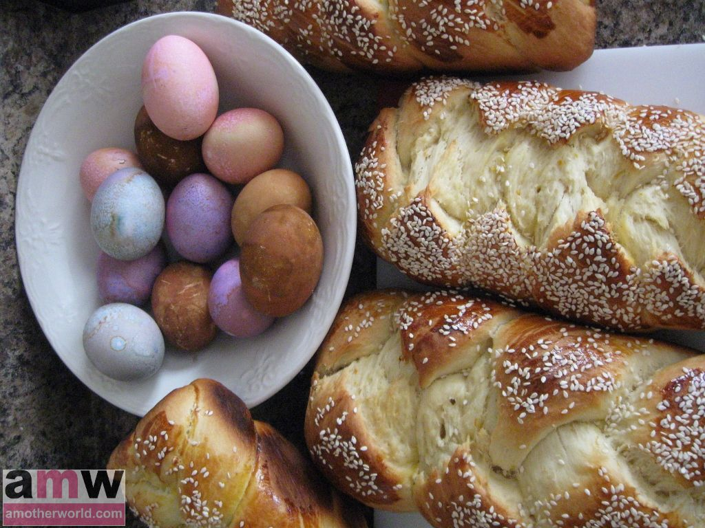 Greek Easter Sweet Bread - Tsoureki