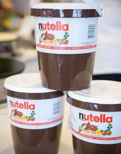 Nutella pop-up crepe kitchen
