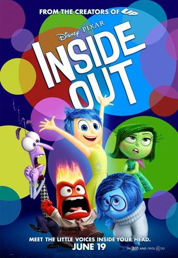 Disney Pixar Inside Out win tickets