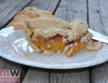 Peach Pie with Gluten Free Pie Crust