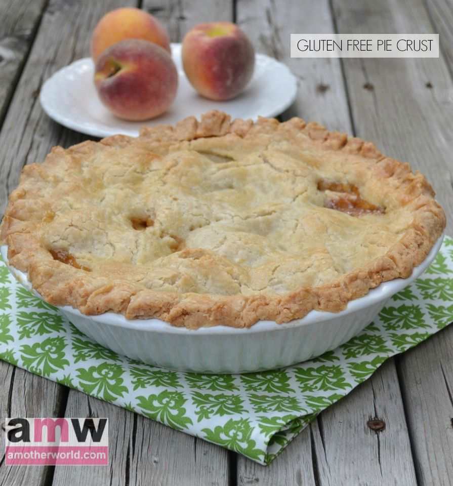 Best Flaky Gluten Free Pie Crust recipe on amotherworld