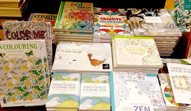 Top 10 Adult Colouring Books