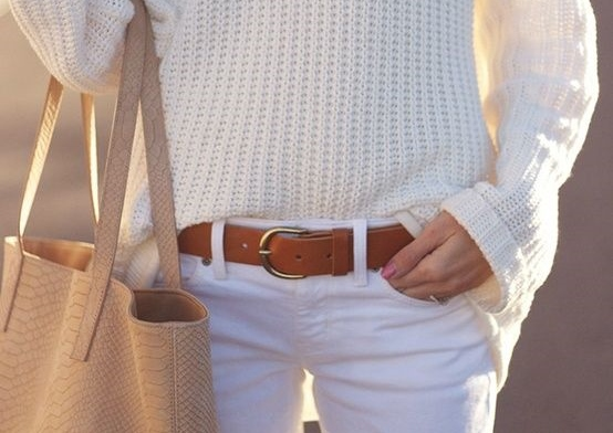 Five ways to wear white This fall