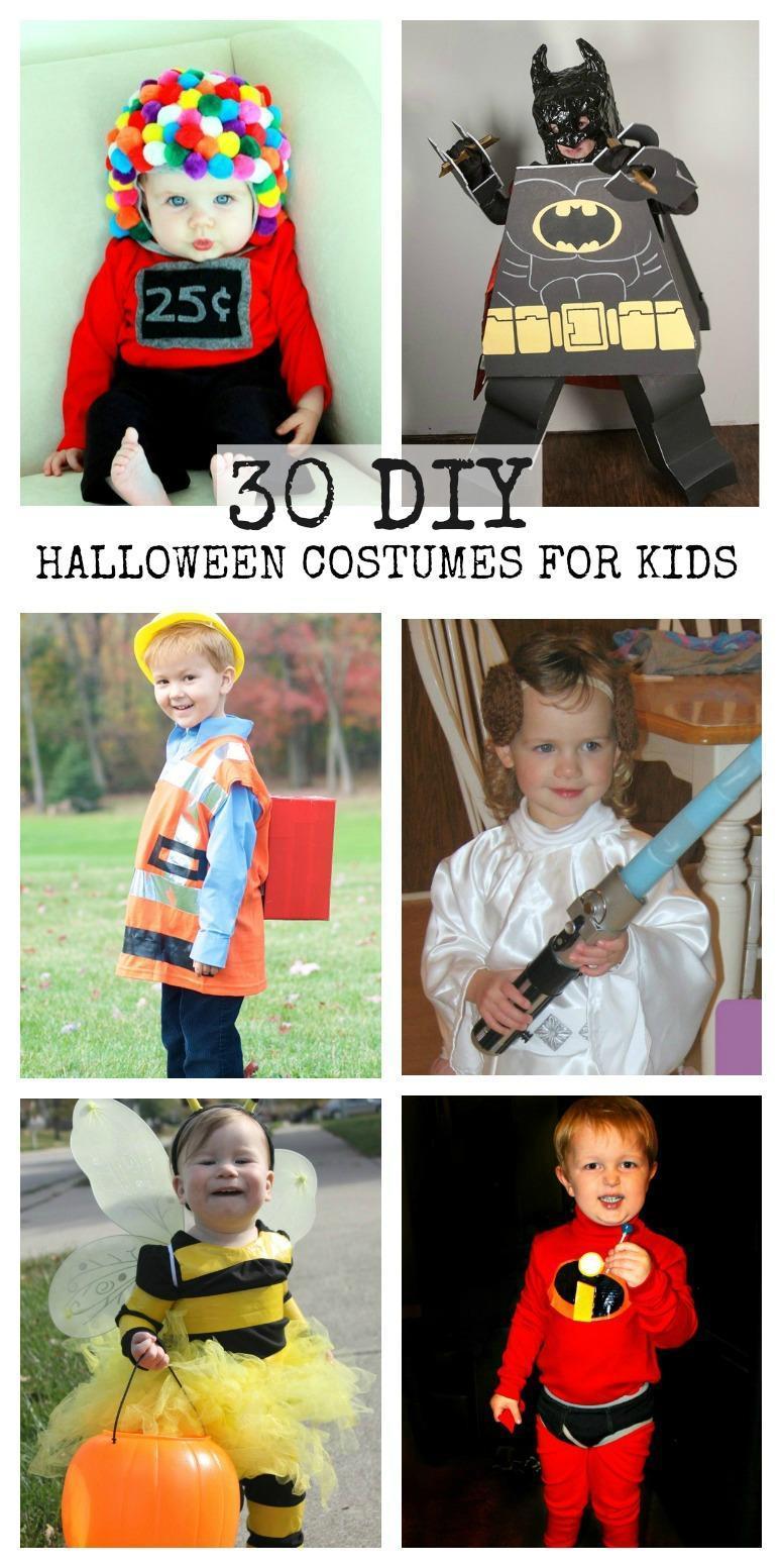 30 DIY Halloween Costumes for Kids