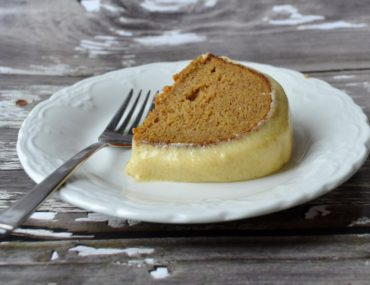Pumpkin Spice Cake with Cream Cheese Glaze