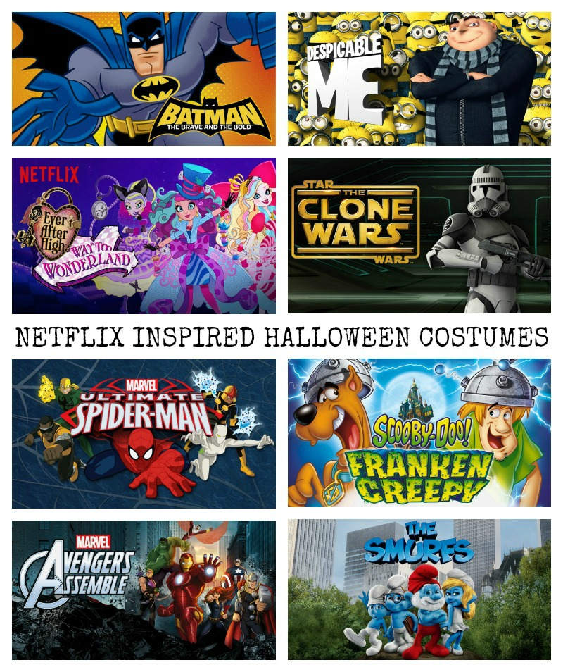 Netflix Inspired Halloween Costumes