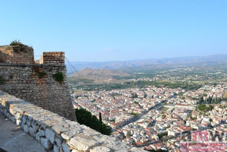 5 reasons to visit Nafplio Greece -Palamidi view from top