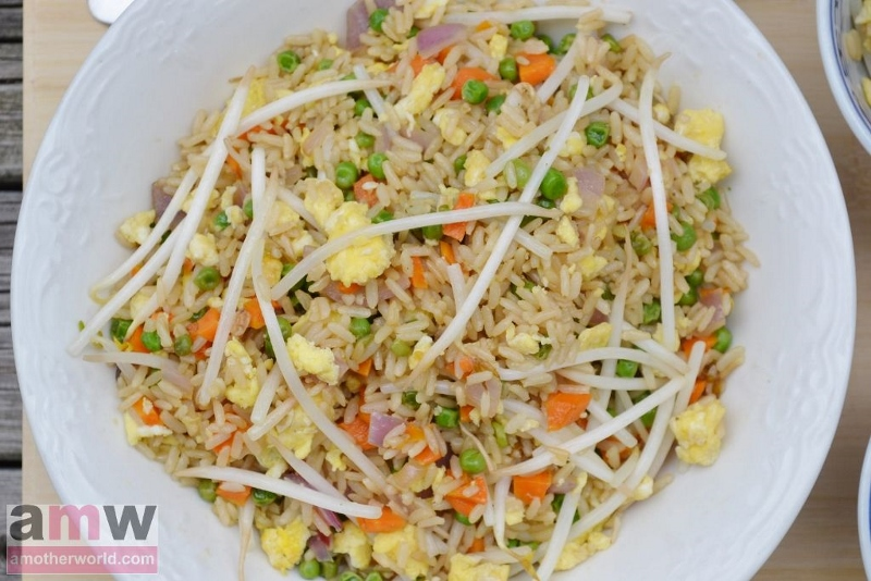 Chinese Restaurant Style Fried Rice Recipe