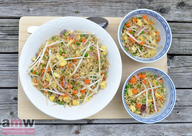 Chinese fried rice recipe take-out style