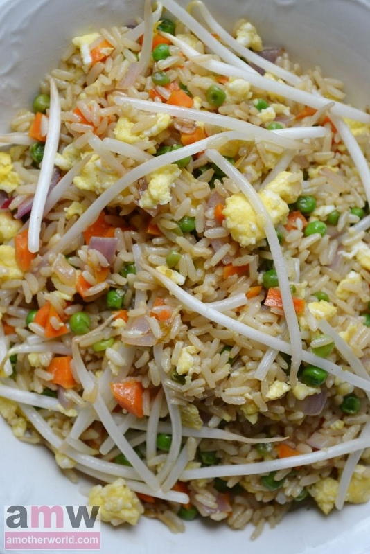 Chinese fried rice recipe - take-out style