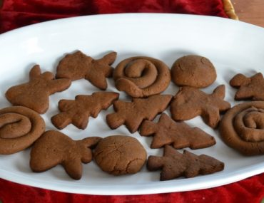 Greek Molasses Cookies