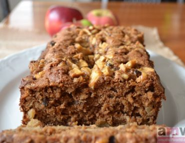 Gluten Free Apple Cinnamon Loaf