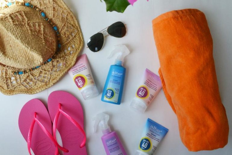 Beauty Products you Need this Summer 2016 Alba Botanicals Sun Care