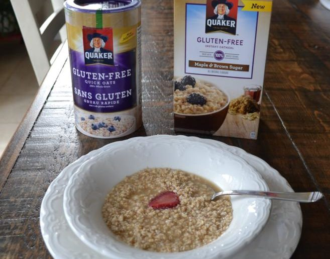 Breakfast is Easier and Tastier with Gluten Free Quaker Oats