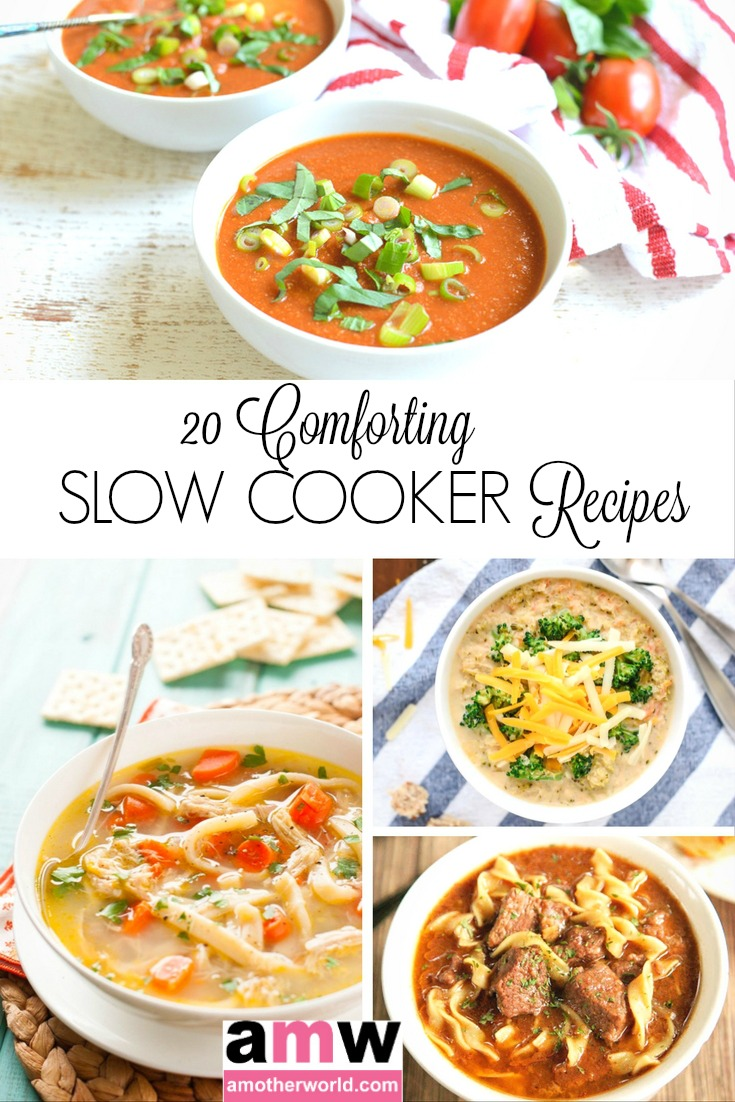 20 Comforting Slow Cooker Recipes   amotherworld