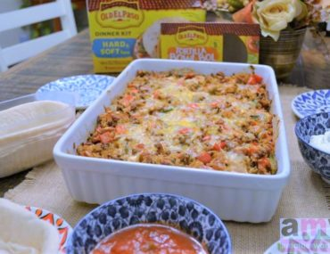 Comfort Food with Family and Friends Mexican Casserole