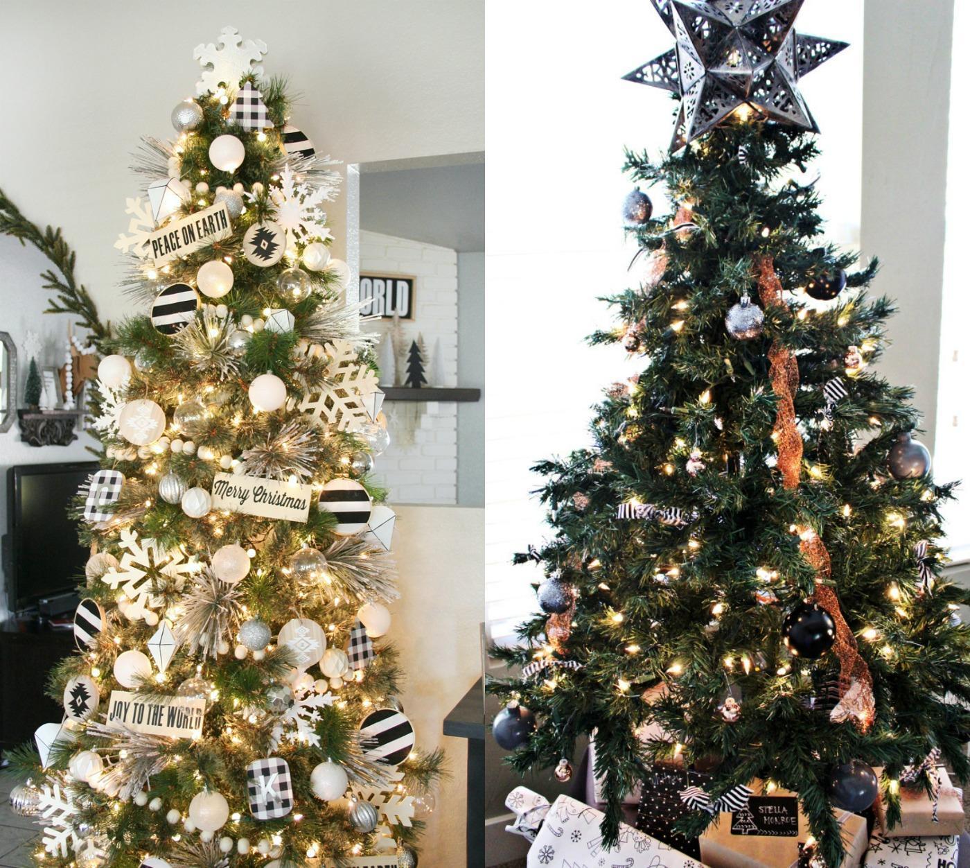 20 Unique Christmas Tree Decorating Ideas | amotherworld