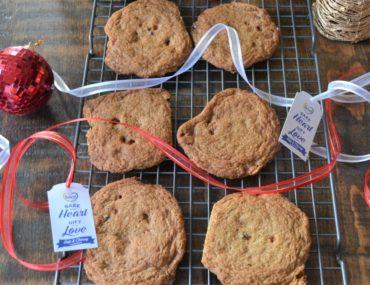 Gluten Free Chocolate Skor Cookies amotherworld.com