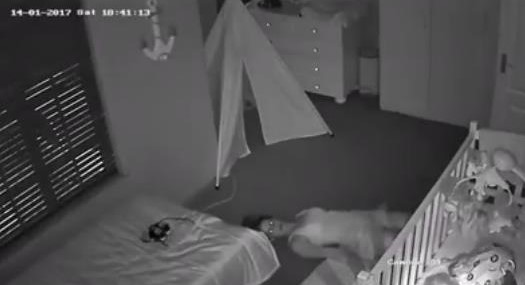 Mom Slithering Out of Baby's Room is All of Us