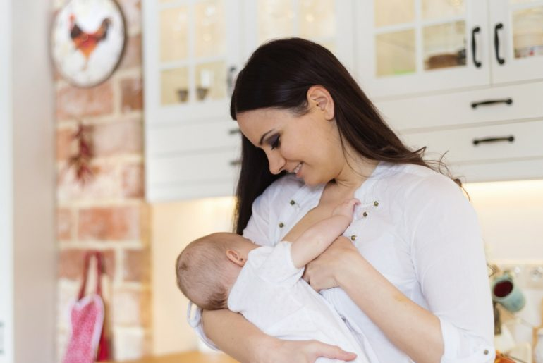Husband Tells New Moms Not to Feel Guilty About Not Breastfeeding