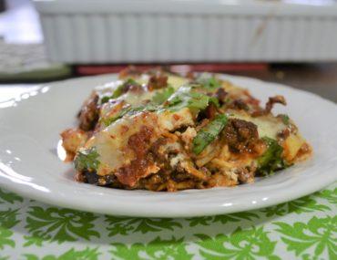 Cinco de Mayo Mexican Lasagna | amotherworld | www.amotherworld.com