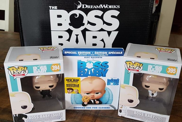 The Boss Baby now on DVD Bluray