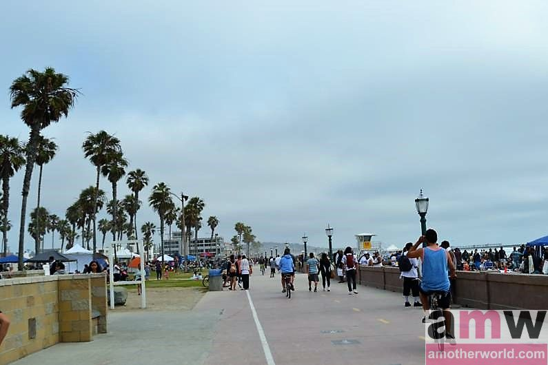 San Diego is a Fun Destination for the Family - Belmont Park boardwalk