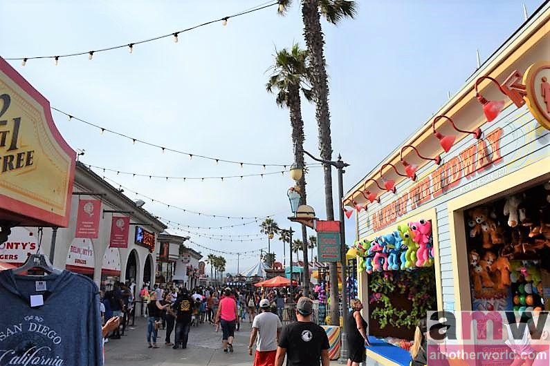 San Diego is a Fun Destination for the Family - Belmont Park rides