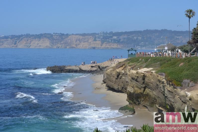 San Diego is a Fun Destination for the Family - La Jolla shores