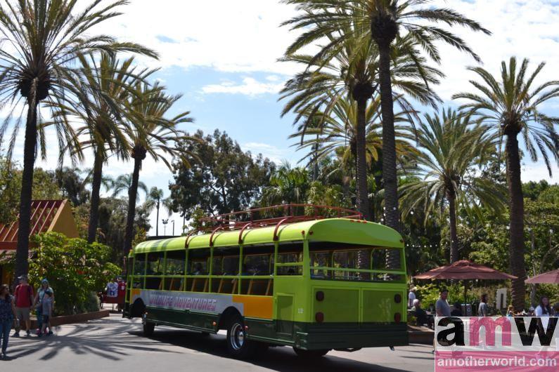 San Diego is a Fun Destination for the Family San Diego Zoo Tour Bus