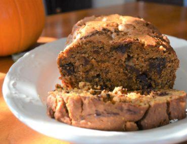 Gluten Free Pumpkin Loaf | amotherworld