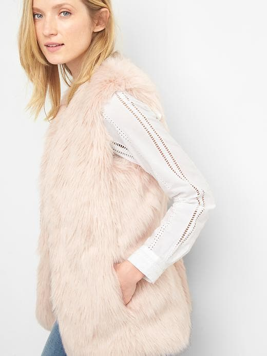 Fall Fashion 2017 Faux Fur Vest