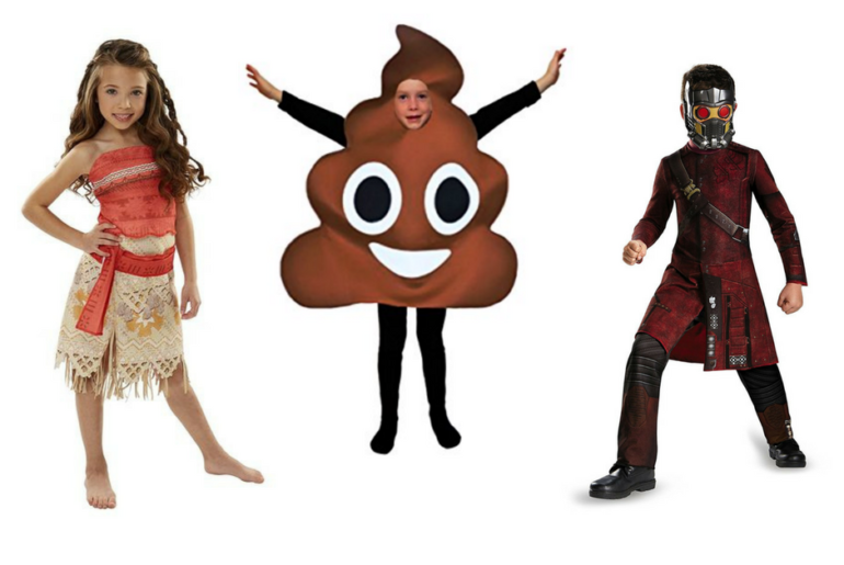 2017 Popular Halloween Costumes for Kids
