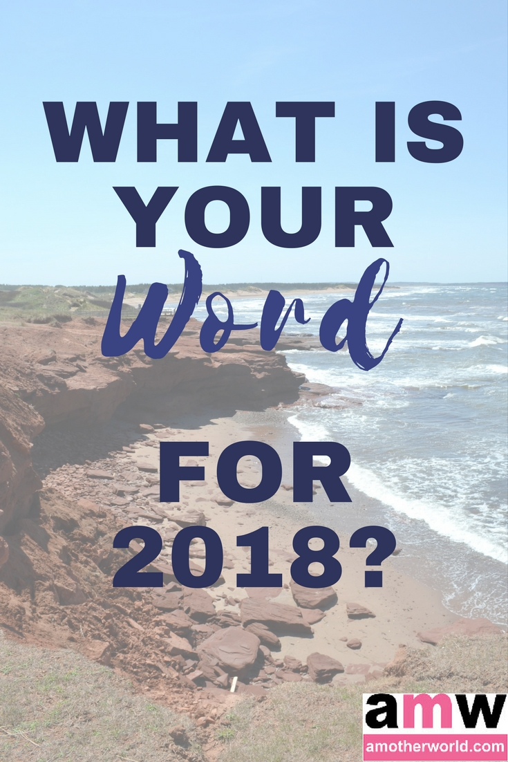 What is Your Word for 2018?