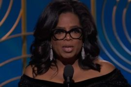 Oprah Golden Globes 2018
