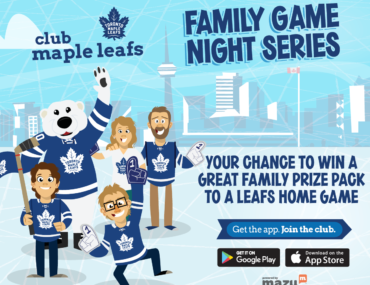 Club Maple Leafs Family Game Night Series
